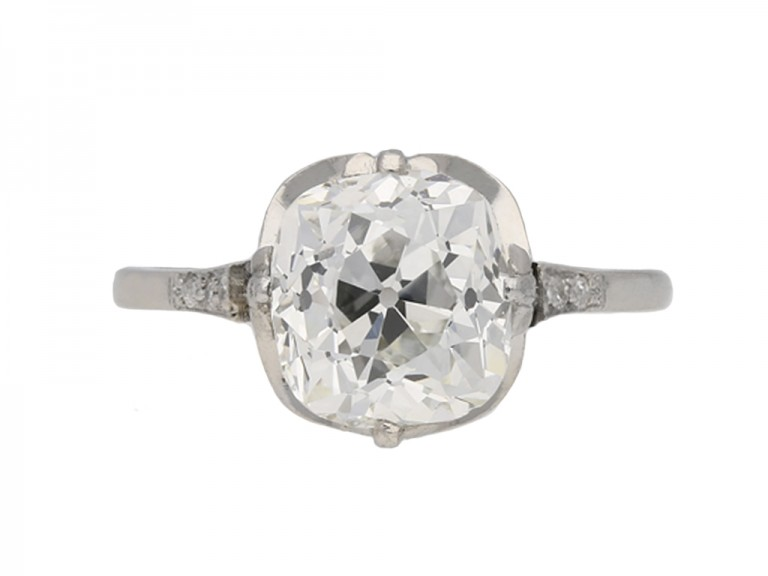 antique diamond ring berganza hatton garden