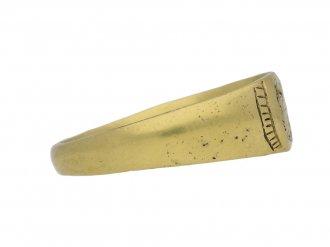 Medieval gold fede ring berganza hatton garden