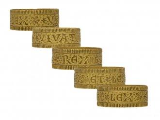 Post Medieval Sergeant ring berganza hatton garden