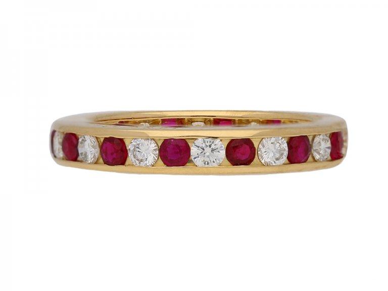 scar heyman ruby diamond ring berganza hatton garden