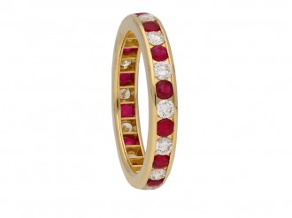 scar heyman ruby diamond ring berganza hatton garden