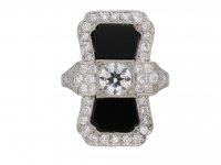 Tiffany onyx diamond ring hatton garden garden