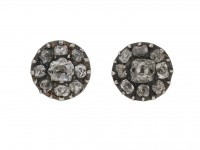 antique diamond stud earrings berganza hatton garden