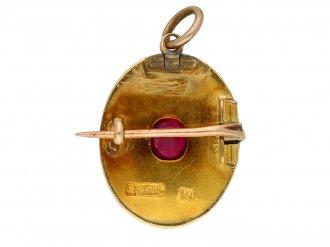 antique brooch pendant berganza hatton garden