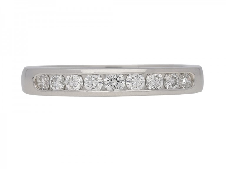 Oscar Heyman diamond ring berganza hatton garden