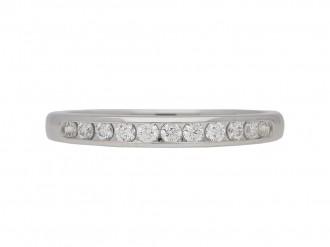 Oscar Heyman diamond ring berganza hatton garden
