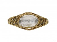 antique rose cut diamond ring berganza hatton garden