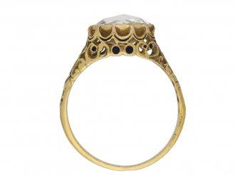 front antique rose cut diamond ring berganza hatton garden