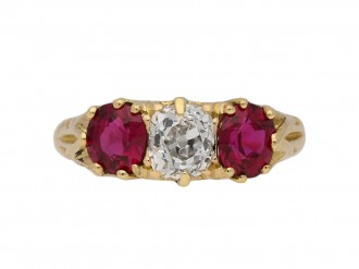 antique ruby diamond ring hatton garden berganza