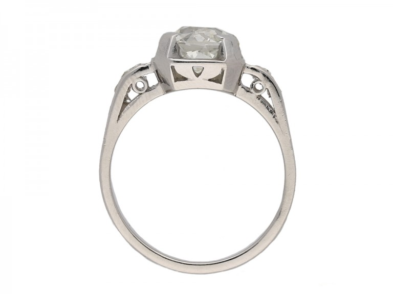 side antique diamond ring hatton garden berganza