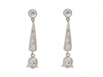 antique earrings diamond hatton garden berganza