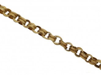 georgian gold chain hatton garden berganza