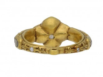 early rose cut diamond ring berganza hatton garden