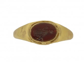 ancient roman intaglio ring hatton garden berganza