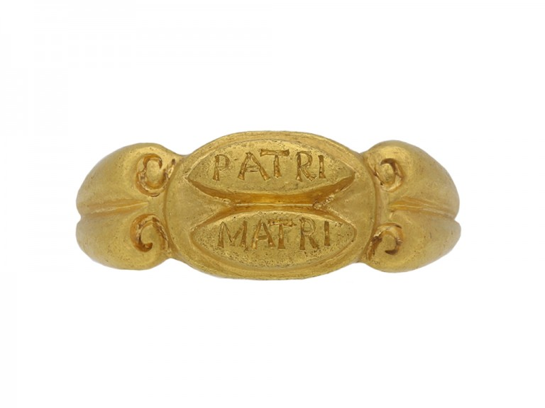 ancient roman gold ring hatton garden berganza