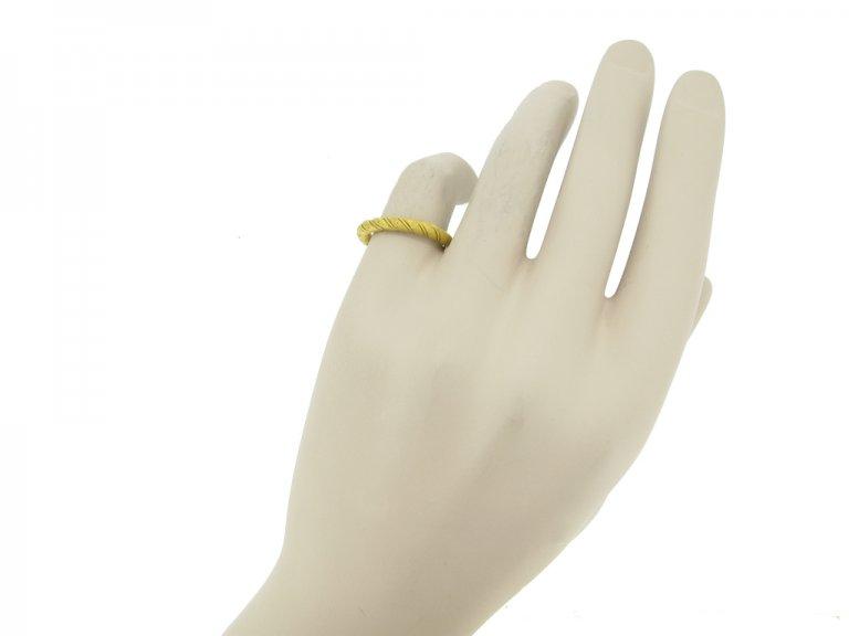 ancient viking gold band ring hatton garden berganza