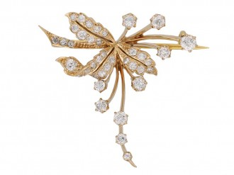 antique diamond gold brooch hatton garden berganza