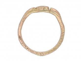 early gold Medieval ring berganza hatton garden