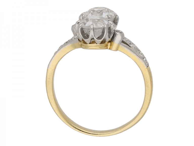 front Antique diamond crossover berganza hatton garden