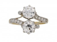 Antique diamond crossover berganza hatton garden