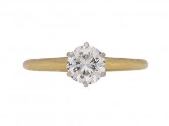 vintage diamond tiffany ring hatton garden berganza