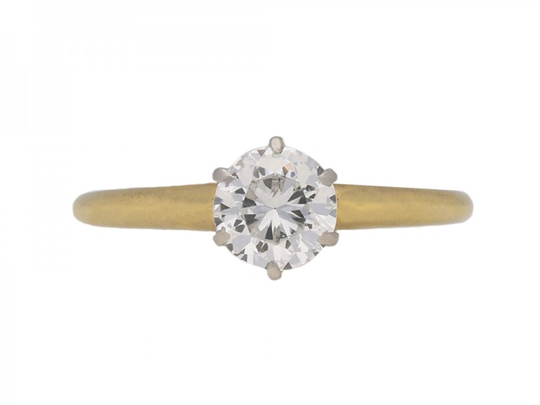 vintage diamond tiffany ring hatton garden berganza