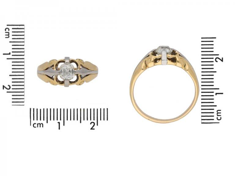 front antique diamond gold platinum ring hatton garden berganza