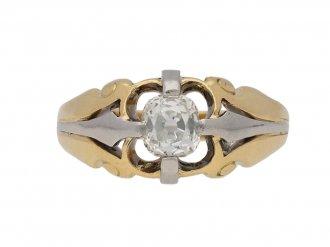 antique diamond gold platinum ring hatton garden berganza