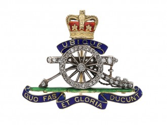 Officer's Sweetheart Cap Badge berganza hatton garden