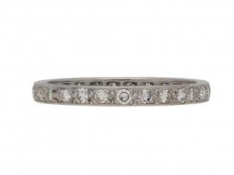 art deco diamond eternity ring hatton garden berganza