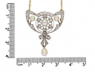 antique diamond pearl pendant brooch berganza hatton garden