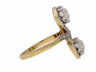 Belle Époque diamond ring berganza hatton garden