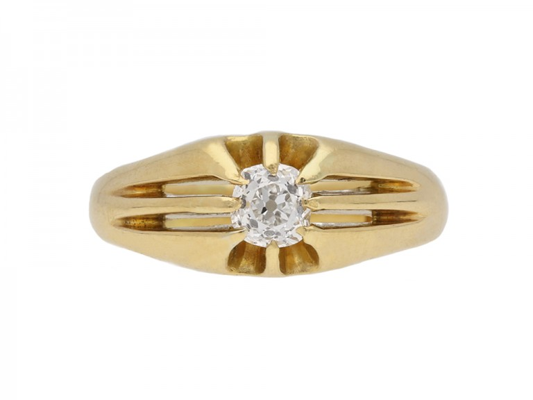 antique gold diamond ring berganza hatton garden