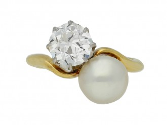 antique diamond pearl ring hatton garden berganza