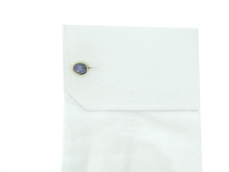 Antique star sapphire cufflinks berganza hatton gardenAntique star sapphire cufflinks berganza hatton garden