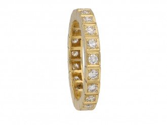 diamond eternity ring berganza hatton garden