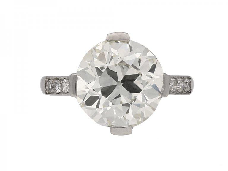 vintage diamond engagement ring hatton garden berganza