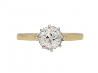 antique diamond engagement ring hatton garden berganza