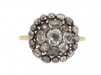 georgian diamond cluster ring hatton garden berganza
