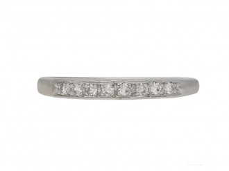 vintage diamond eternity ring hatton garden berganza