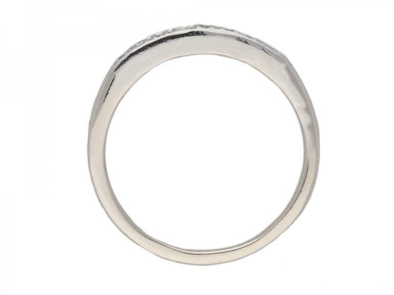 vintage diamond eternity ring hatton garden berganza