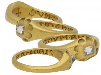 front jacobean gold diamond ring hatton garden berganza