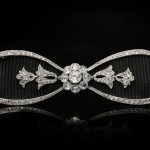 Cartier antique diamond bow brooch, circa 1910.