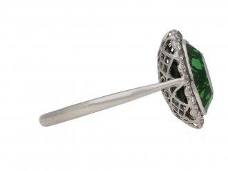 antique diamond tourmaline ring hatton garden berganza