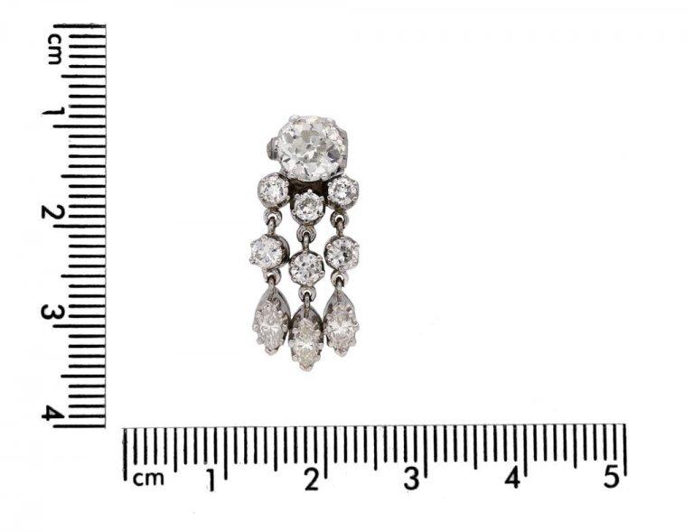 antique diamond day night earrings berganza hatton garden