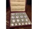 Art Nouveau button set by Louis Rault berganza hatton garden