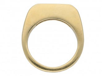 Vintage half eternity diamond ring berganza hatton garden