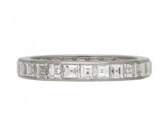 Art Deco diamond eternity ring berganza hatton garden