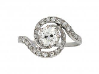 Diamond tourbillon ring berganza hatton garden