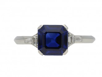 Tiffany & Co. sapphire and diamond ring berganza hatton garden